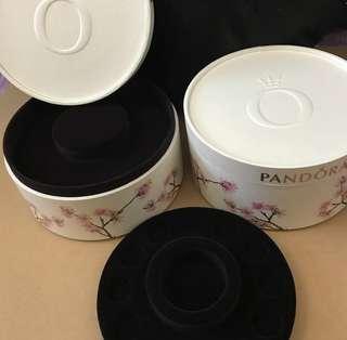 Pandora Cherry Blossom Jewelry Box (Rare)