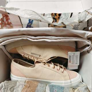 Superga 2750 cotleasnakeu sneakers shoes US Womens 6