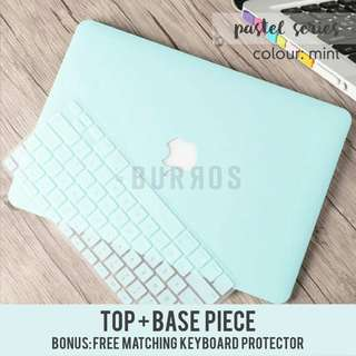 🚚 📣INSTOCKS📣 Pastel Mint Macbook Laptop Shell Hard Case Protector available for all models