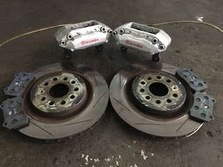 Vw Golf ,Jetta,scirocco,Brembo 4 pot