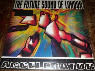 Vinyl Record LP: The Future Sound Of London‎– Accelerator