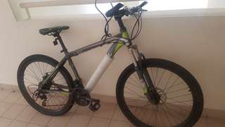 "26"" aluminum frame mountain bike"