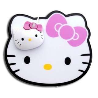 Mouse usb optic hello kitty