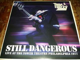 "Vinyl Record LP + 7"" Single: Thin Lizzy ‎– Still Dangerous Live At The Tower Theatre Philadelphia 1977"