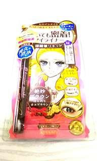 日本銷量No.1 Kiss Me Heroine make 持久防水防油防脱色纖幼細眼線液/筆(啡色)
