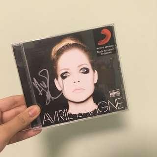 Avril Lavigne Signed Album
