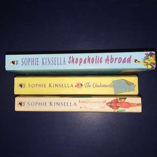 Sophie Kinsella Books. (3 for 300)