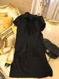 🚚 Oasis黑色上班洋裝