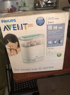 Avent 3 in 1 electric steam sterilizer