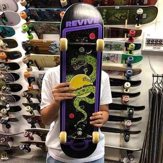 revive arcade skateboard deck