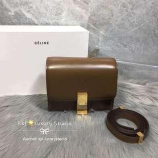 Celine box 焦糖色small size 💕