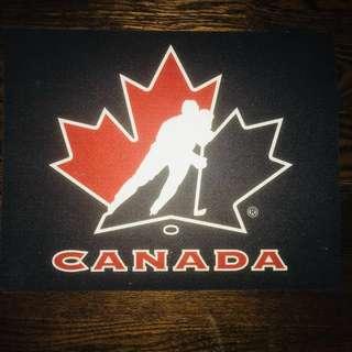 Hockey Canada Skate Mat