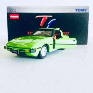 TAKARA TOMY TOMICA TL0004 MAZDA SAVANNA RX-7 ( GREEN ) - RARE