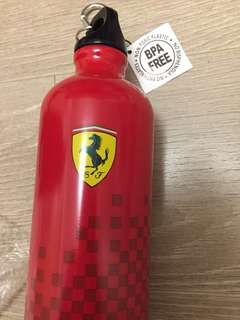 法拉利水樽(鋁製) Ferrari aluminium bottle (全新 100% new)