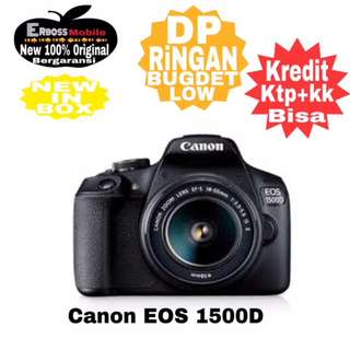 Canon EOS 1500D Kit EF-S 18-55mm IS II Resmi-Kredit Dp call/wa;081905288895