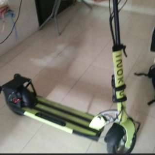 Inokim Quick 2 with rear mobility wheel