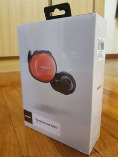 Bose Soundsport Free Orange/Navy