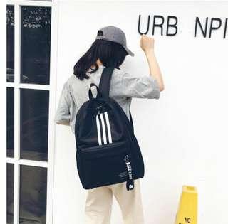 🚚 韓版新款運動風後背包