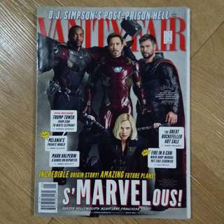 Avengers Infinity War Cover of Vanity Fair