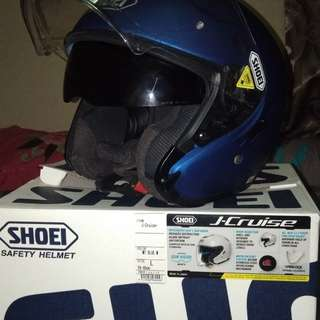 Shoei j cruise mate blue