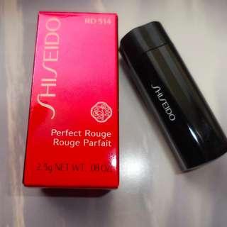 Lipstik Pewarna Bibir Shiseido Perfect Rouge RD514 Original