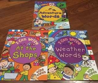 I Can Write storybook wipe & clean