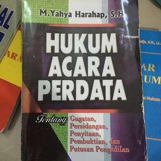 Hukum Acara Perdata M. Yahya Harahap, S.H.