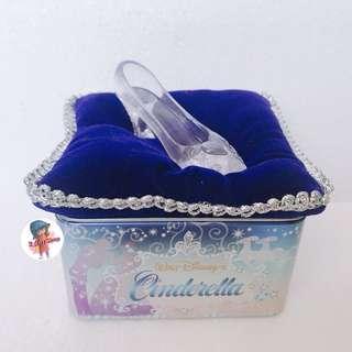 灰姑娘 玻璃鞋 盒