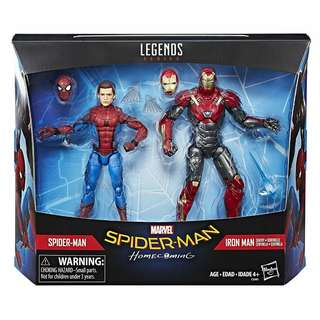 Marvel Legends Spiderman & Iron Man Sentry 2pack Exclusive