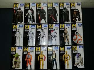 TOMICA Star Wars Die Cast Figures SET