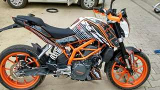 Ktm Duke 390 Cash Only