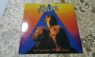 Police vinyl records