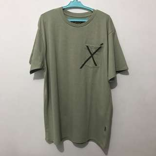 Oxygen olive tee size L