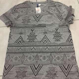 H&M Gray Shirt
