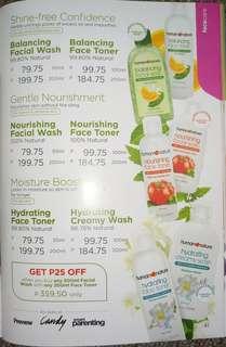 Nourishing Facial Wash 100% Natural (for normal to sensitive skin)