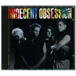 1990 Indecent Obsession CD Album: Made in USA, Rare & Out of Print!
