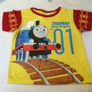 Thomas Blue Engine Boy's Shirt