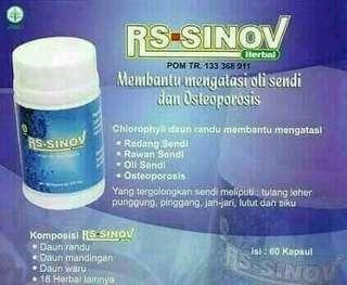 RS-SinoV utk penyakit Tulang Sendi