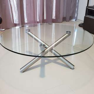 Coffee Table (Tempered Glass)