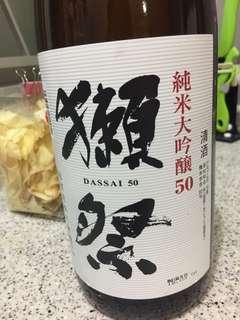 獺祭 1.8L 全新 日本 清酒
