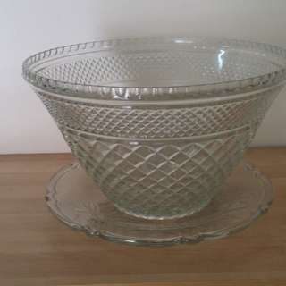 Glassware - Punch bowl