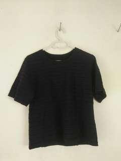 black basic top