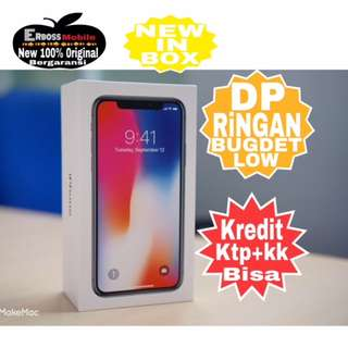 Kredit New Apple IPhone X 256 GB Original Call/Wa;081905288895