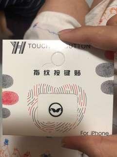iphone指紋按鍵貼