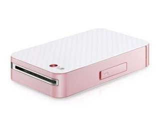 LG Pocket Photo Printer PD233 Pink 口袋隨身打印機 粉色; 70x photo paper 送70張相紙