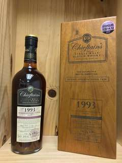 Chieftain's 1993 First Fill Sherry Cask Whisky