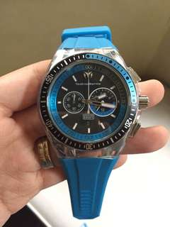 Technomarine Cruise (with blue rubber strap)