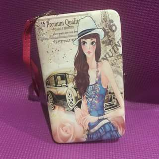 Hardcase Pink Girl Wallet