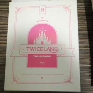 WTS Twiceland The Opening DVD