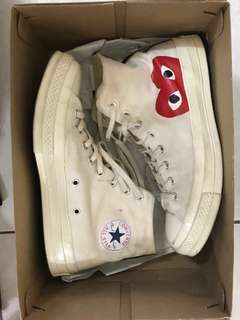 Converse CDG White Sneakers